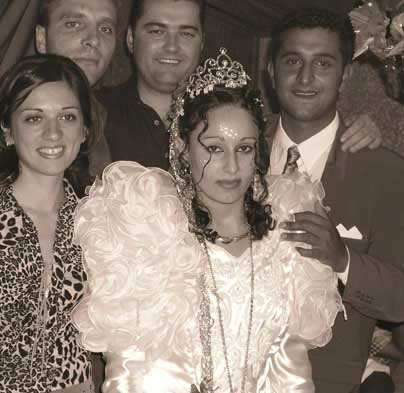 Roma Wedding, Serb Guests: Gracanica, June 2003