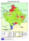 Kosovo: Ethnic Minority Distribution according to the 1991 Census